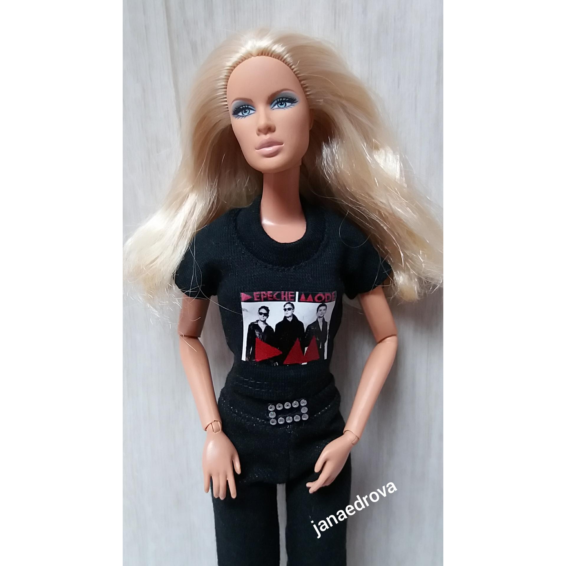 47d3a7c90b Tričko na Barbie Depeche Mode