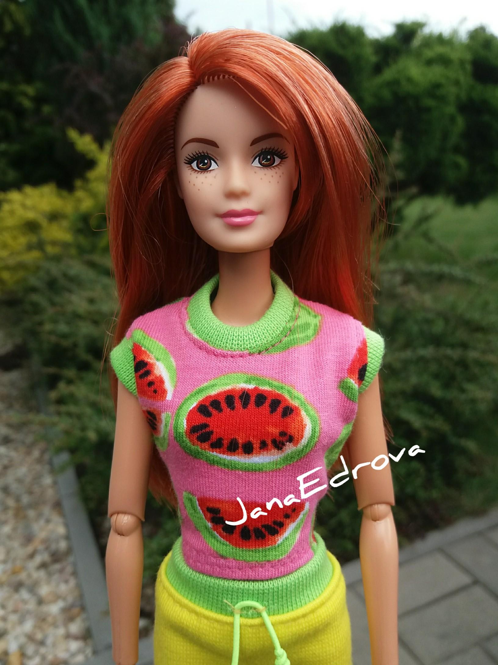 b80d29bfc7 Tričko pro Barbie